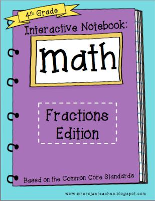 Interactive Math Notebook – Final Edition: Fractions!