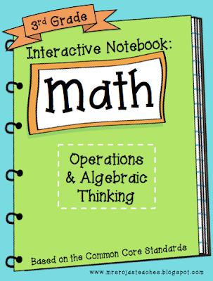 3rd Grade Interactive Math Notebook – 2nd Edition