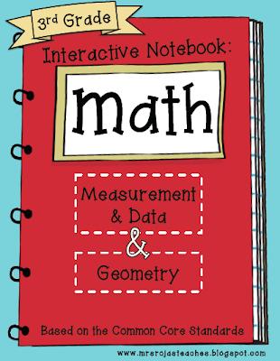 3rd Grade Interactive Math Notebook – Final Edition!!!