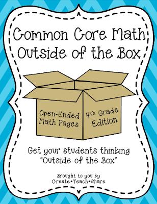 Common Core Math {Outside of the Box}