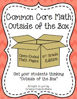 Common Core Math {Outside of the Box} – 5th Grade Edition