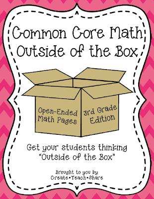 Common Core Math {Outside of the Box} 3rd Grade Edition