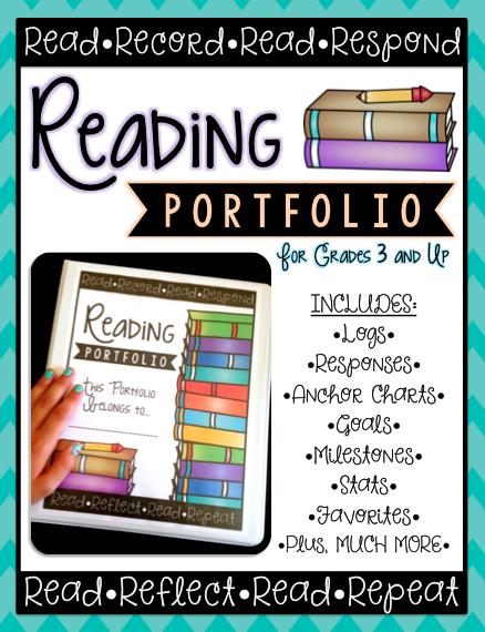 Reading Portfolios – Part 1: Reading Logs & Stats {+ freebie}