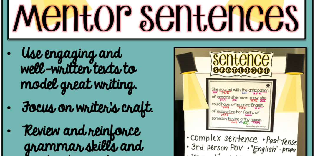 Putting the Spotlight on Mentor Sentences