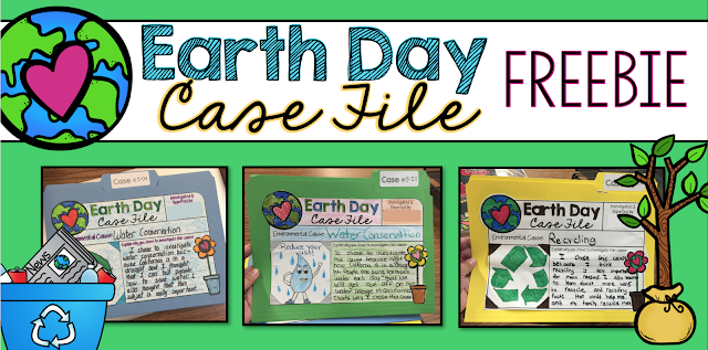 Earth Day Case File {FREEBIE!!}
