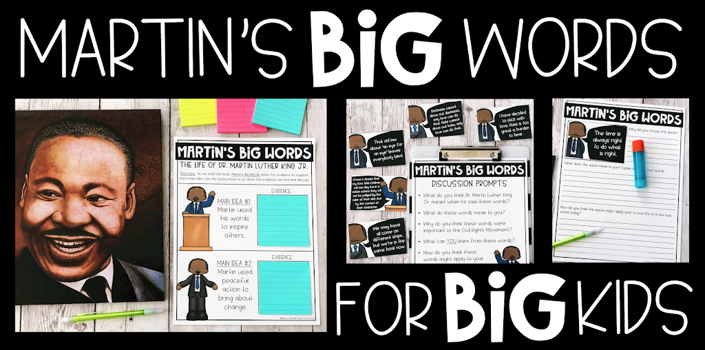 Martin's BIG Words for BIG Kids!!