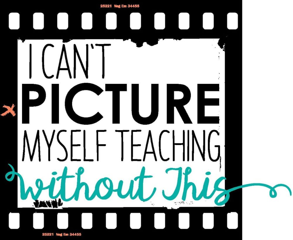 "Classroom Must-Haves That I Can't ""Picture"" Myself Teaching Without"