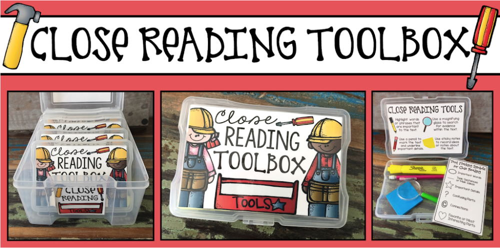 Close Reading Toolbox FREEBIE!!