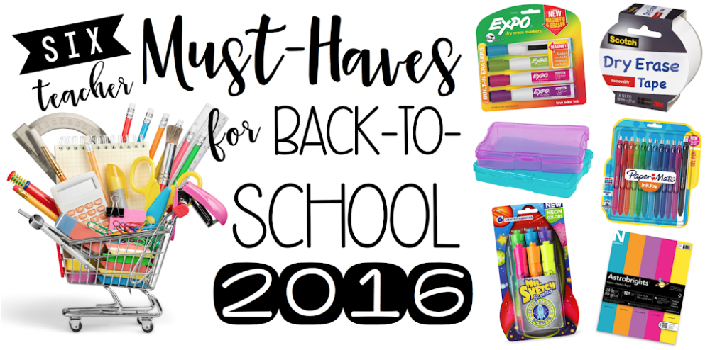 Must-Haves for Back-to-School
