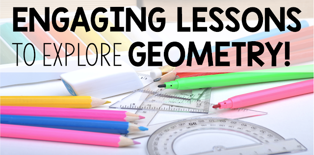 Engaging Lessons To Explore Geometry