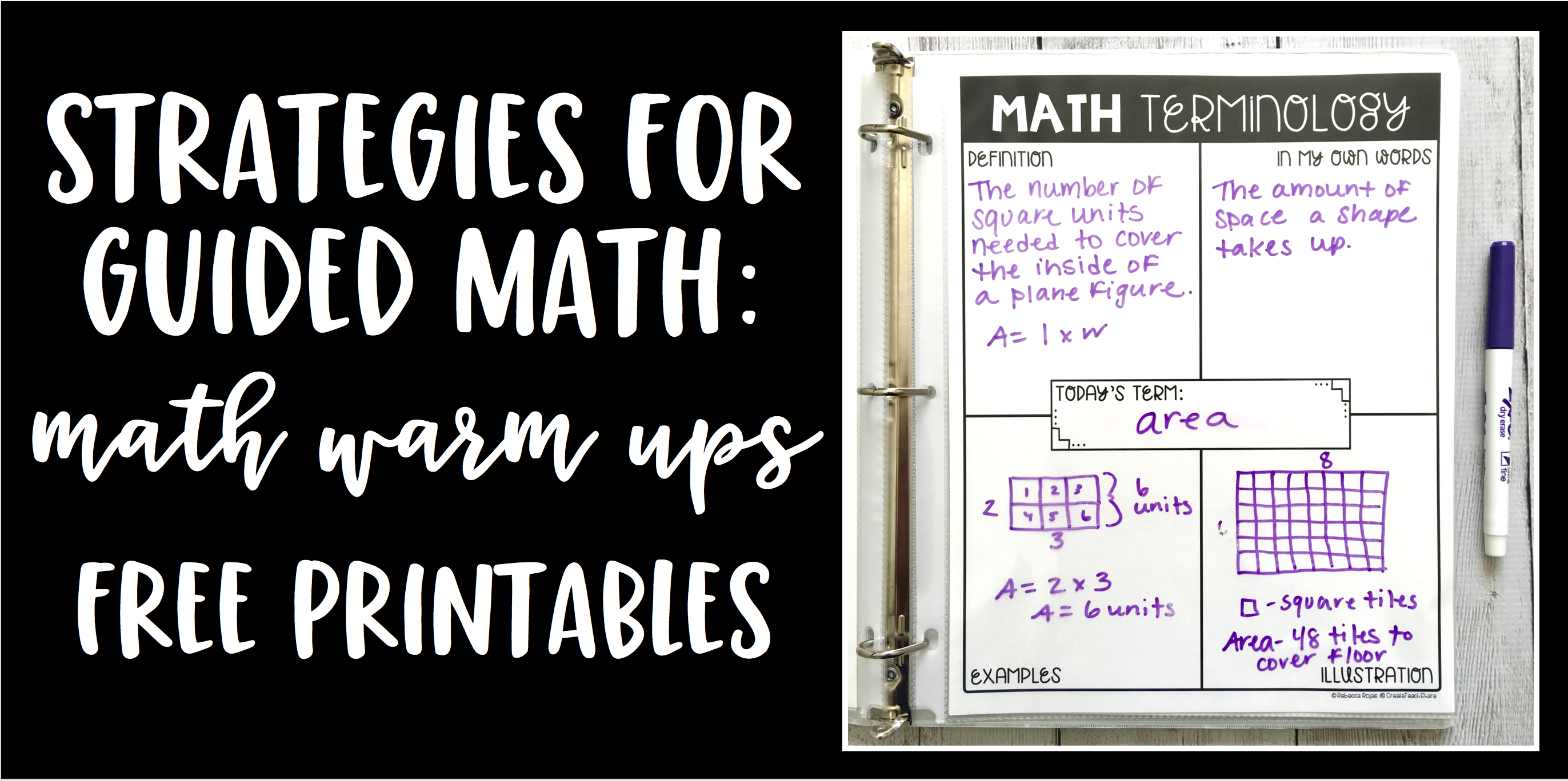 Smashing Strategies for Guided Math: Starting the Day With Math Warm-Ups