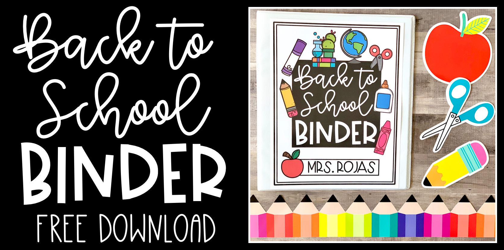 Creating a Back to School Binder