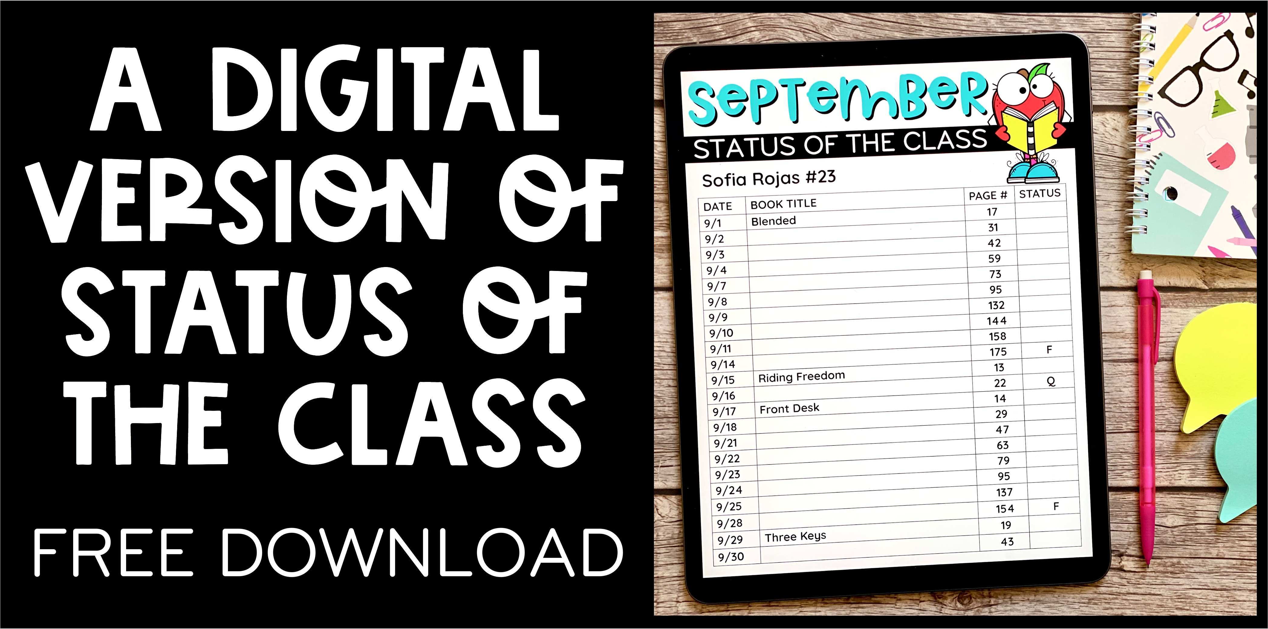 A Digital Version of Status of the Class